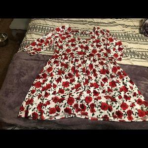 Forever 21+ Floral Dress